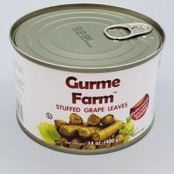 Gurme Farm Dolma Stuffed Grape Leaves Veggie 400g
