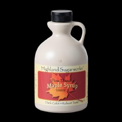 Highland Sugarworks Vermont Dark Maple Syrup Jug 16oz