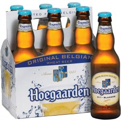 Hoegaarden Wheat Beer 6 pack