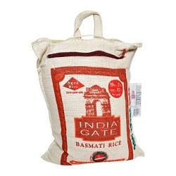 India Gate Basmati Rice Burlap 10lb