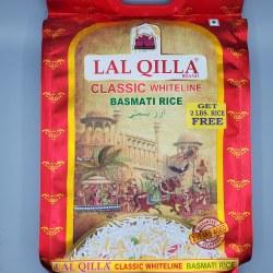 Lal Qilla Basmati Rice Classic Whiteline 10 lb