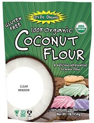 Let's Do Organic Coconut Flour Gluten Free 16oz