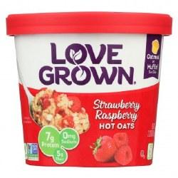 Love Grown Hot Oatmeal Strawberry Raspberry 2oz