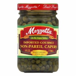Mezetta Capers Nonpareil 4oz