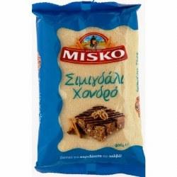 Misko Semolina Flour Coarse 400g