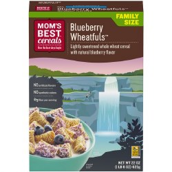 Mom's Best Cereal Blueberry Wheat 22oz