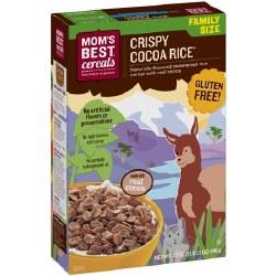 Mom's Best Cereal Crispy Cocoa Rice 17oz