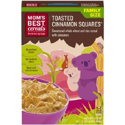 Mom's Best Cereal Toasted Cinnamon Squares 17oz