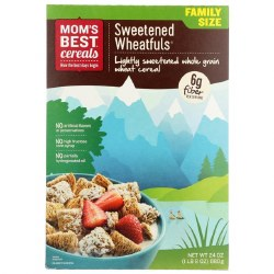 Mom's Best Cereal Sweetened Wheatfuls 22oz