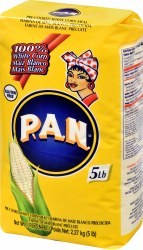P.A.N White Corn Meal Flour 5lb