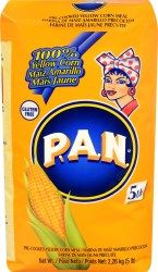 P.A.N Yellow Corn Meal Flour 5lb