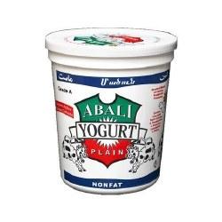 Abali Plain Yogurt Nonfat 32 oz