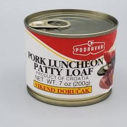 Podravka Pork Luncheon Loaf 7oz