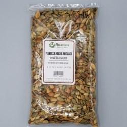Phoenicia Pumpkin Seeds Shelled Roasted & Salted 8 oz