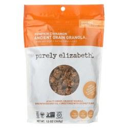 Purely Elizabeth Granola Pumpkin Cinnamon Gluten Free 12oz