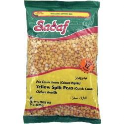 Sadaf Yellow Split Peas Fast Cook 24oz
