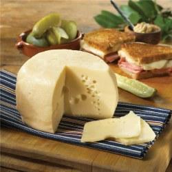 Baby Swiss Cheese Sliced