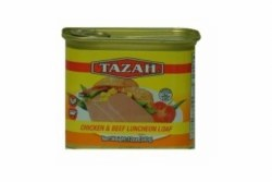 Tazah Chicken Beef Luncheon 12oz