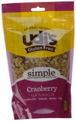 Udi's Granola Cranberry Gluten Free 11 oz