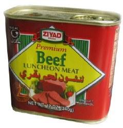 Ziyad Beef Luncheon Meat 12 oz