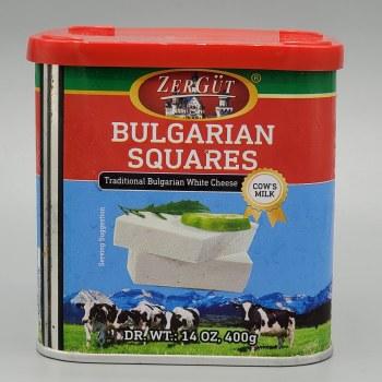Zergut Bulgarian Cheese Squares Cow's Milk 400g
