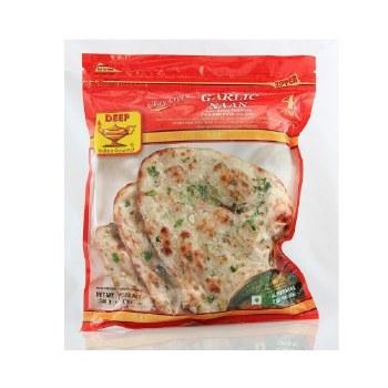 Deep Garlic Naan 4pcs