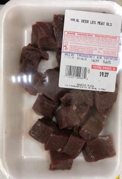 Halal Deer Leg Meat