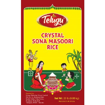 Telugu SM Crystal Rice 20lb