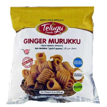 Telugu Ginger Murukku 170g