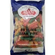 Adani Fryums Star Pipe (Color)