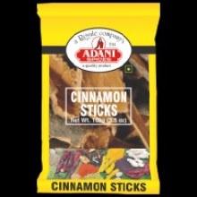 Adani Cinamon Sticks Flat 100g