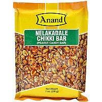 Anand Peanut Chikki Bar 200g