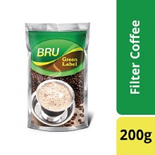 Bru Green Label  Coffee 200g