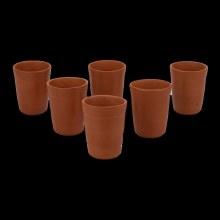 Clay Glass 200ml(6 pc)