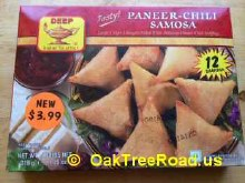 Deep Samosa Paneer-Chilli 12Ct