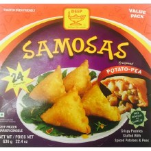 Deep Samosa Potato Peas 24ct