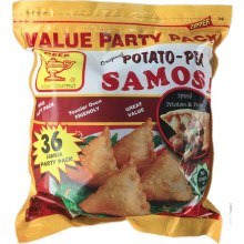 Deep Samosa Potato Peas 36ct