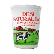 Desi Natural Lowfat Yogurt 2lb