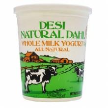 Desi Natural WM Yogurt 2lb