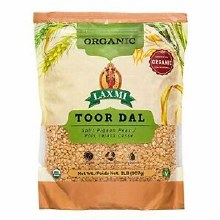 Laxmi Organic Toor Dal 2lb