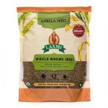 Laxmi Organic Whole Moong 2lb