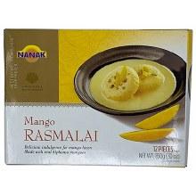 Nanak Mango Rasmalai 12Pcs