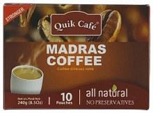Quik Tea Madras Coffee 10ct