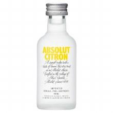 Absolut citron 50ml