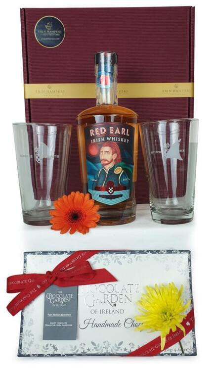 Red Earl Irish Whiskey Hamper