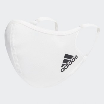 Adidas Face Cover (pack of 3) S White