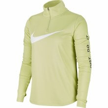 NIKE Womens 1/4 -ZIP RUNNING T