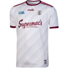 Galway Jersey L White/Maroon