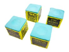4 Cubes Green Triangle Chalk