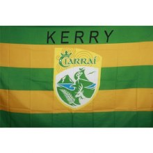Crested Flag 5 x 3 5x3 Kerry